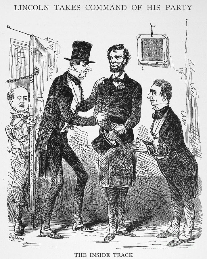Lincoln Cartoon 1860 Photograph By Granger