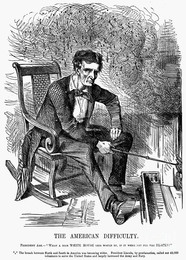 Lincoln Cartoon 1861 Photograph By Granger