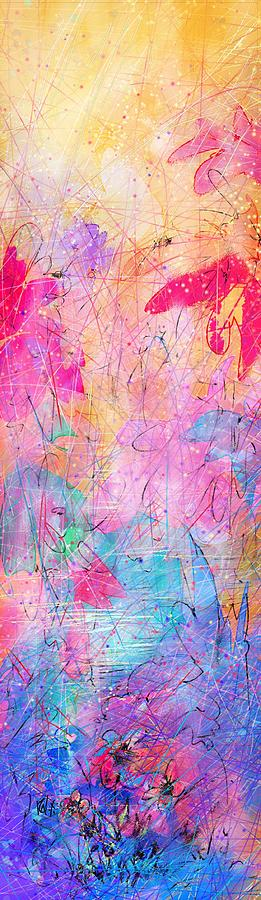 Abstract Drawing - Little Miracles by Rachel Christine Nowicki