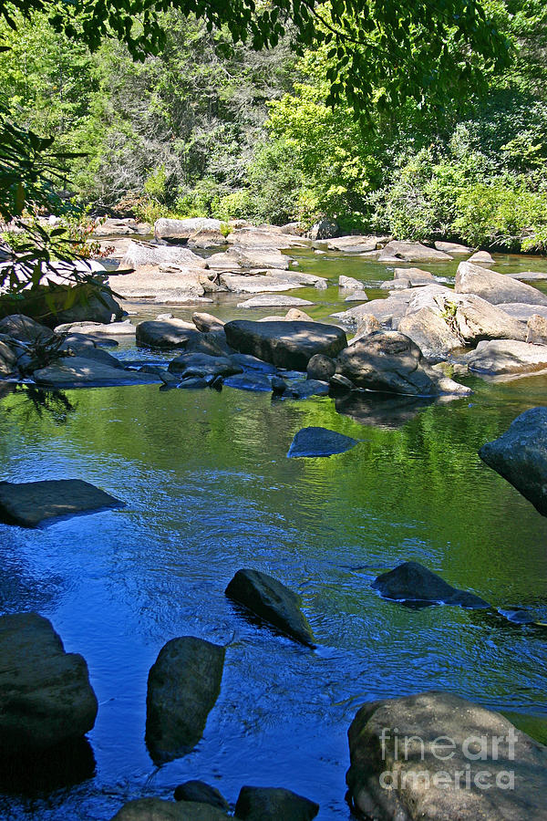 Pool Photograph - Little River Deep Pool by Beebe  Barksdale-Bruner