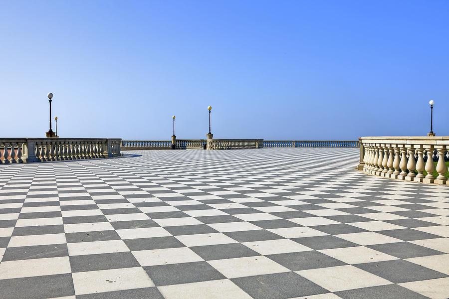 Livorno - Terrazza Mascagni Photograph by Joana Kruse