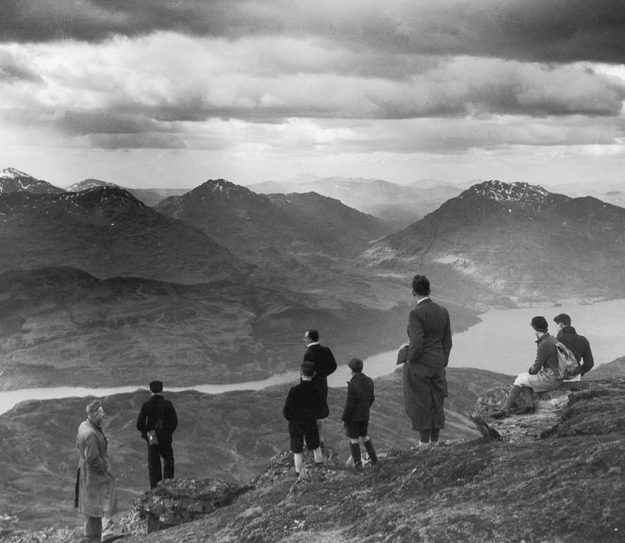 Loch Lomond Photograph by Fox Photos