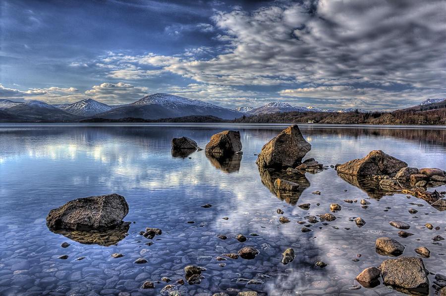 Lomond Photograph - Loch Lomond by Fiona Messenger