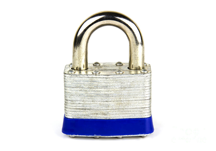 Security Photograph - Lock by Blink Images