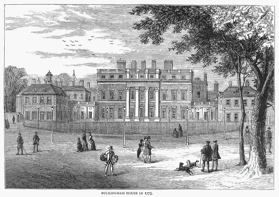 1775 Photograph - London: Buckingham House by Granger