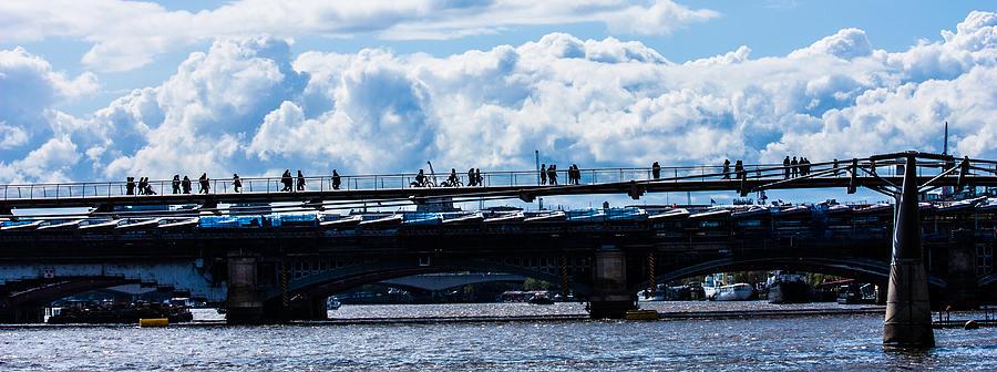 Cloud Photograph - London Skyline by Dawn OConnor