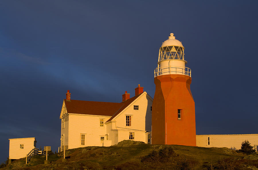 Long Point Lighthouse Twillingate Photograph By John