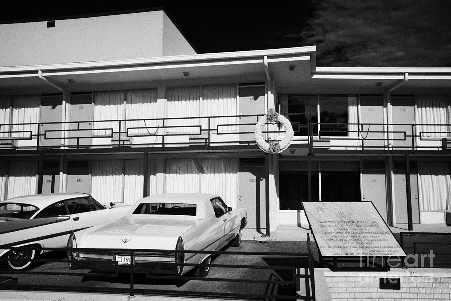 Lorraine Photograph - Lorraine Hotel Site Of The Murder Of Martin Luther King Now The National Civil Rights Museum Memphis by Joe Fox