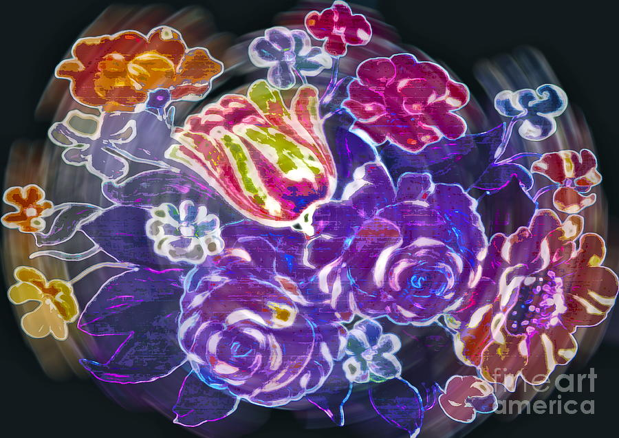 Flower Photograph - Lost Treasures by Gwyn Newcombe