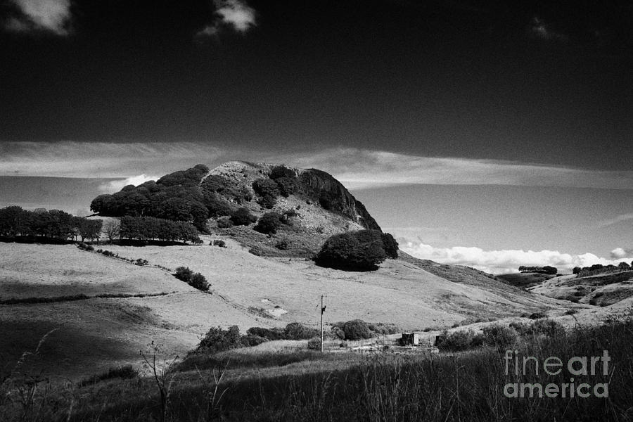 Loudon Photograph - Loudoun Hill East Ayrshire Scotland Uk United Kingdom by Joe Fox