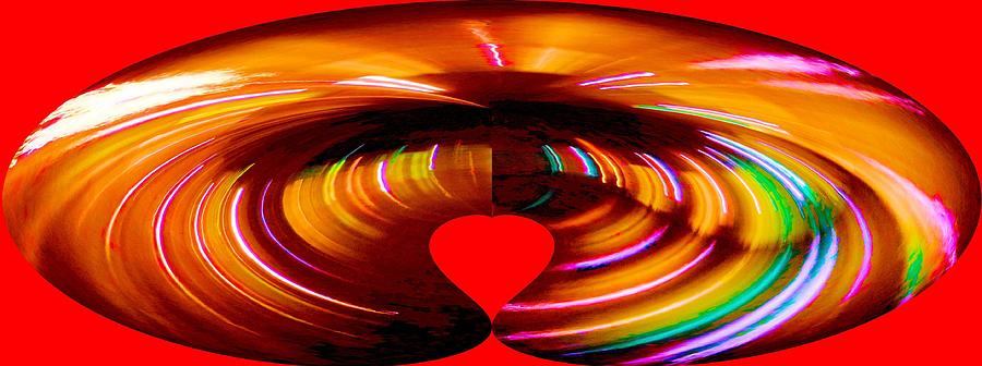 Abstract Photograph - Love by Carolyn Repka