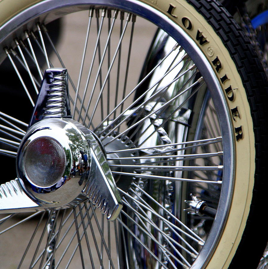 Low Rider And Silver Spokes - II Photograph by Tam Graff