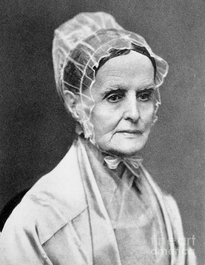 19th Century Photograph - Lucretia Coffin Mott by Granger