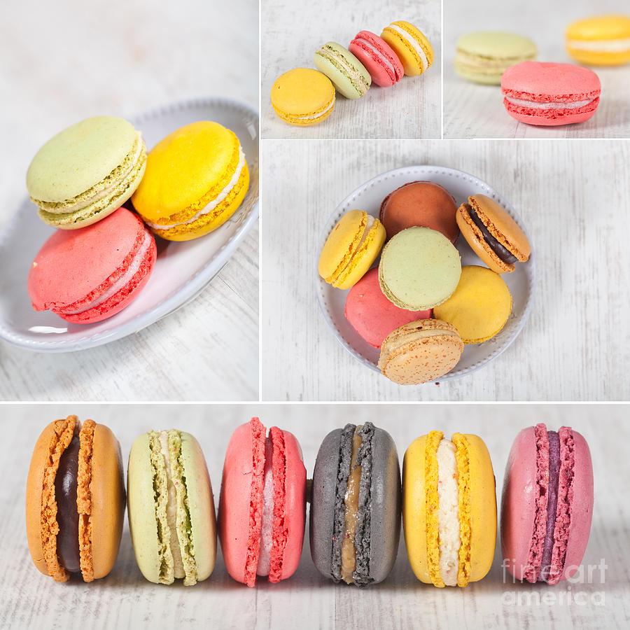 Macarons Photograph - Macarons by Sabino Parente