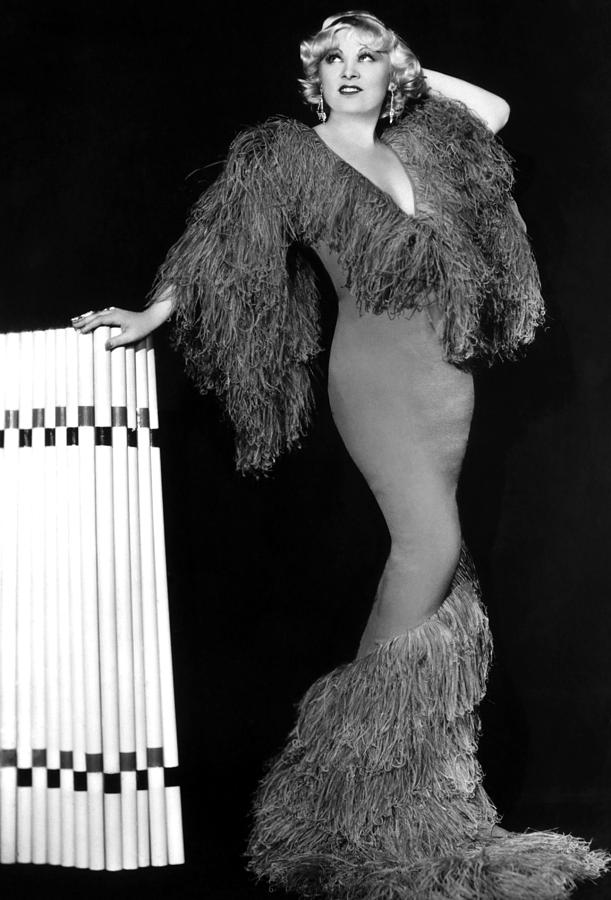 Movie Stars Photograph - Mae West, Paramount Pictures, Ca. Early by Everett