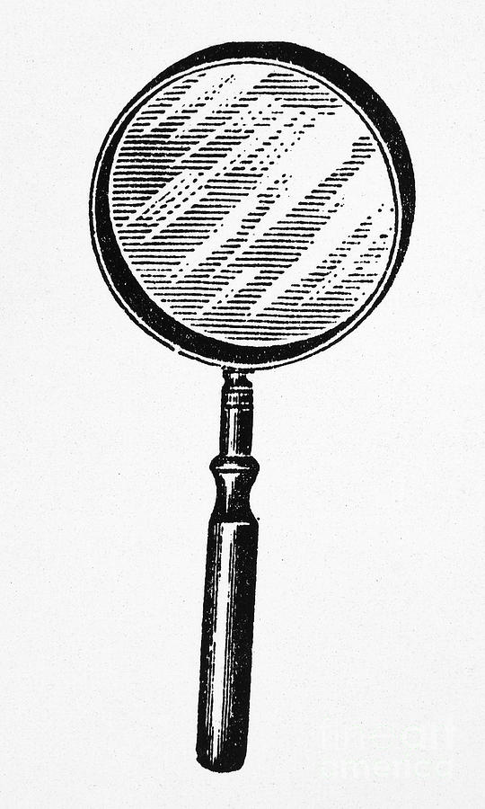 Magnifying Glass Photograph By Granger