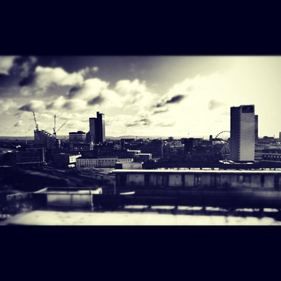 Manchester Photograph by Ritchie Garrod