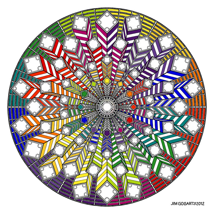 The mandala coloring book jim gogarty - Mandala Drawing Mandala Drawing 38 By Jim Gogarty
