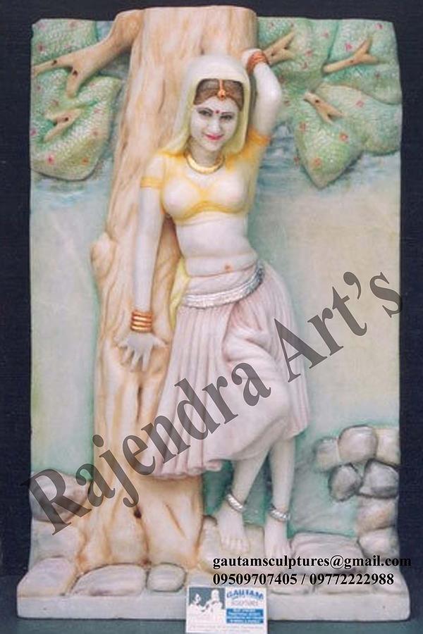 Marble Sculpture Sculpture by Abhishek Sharma