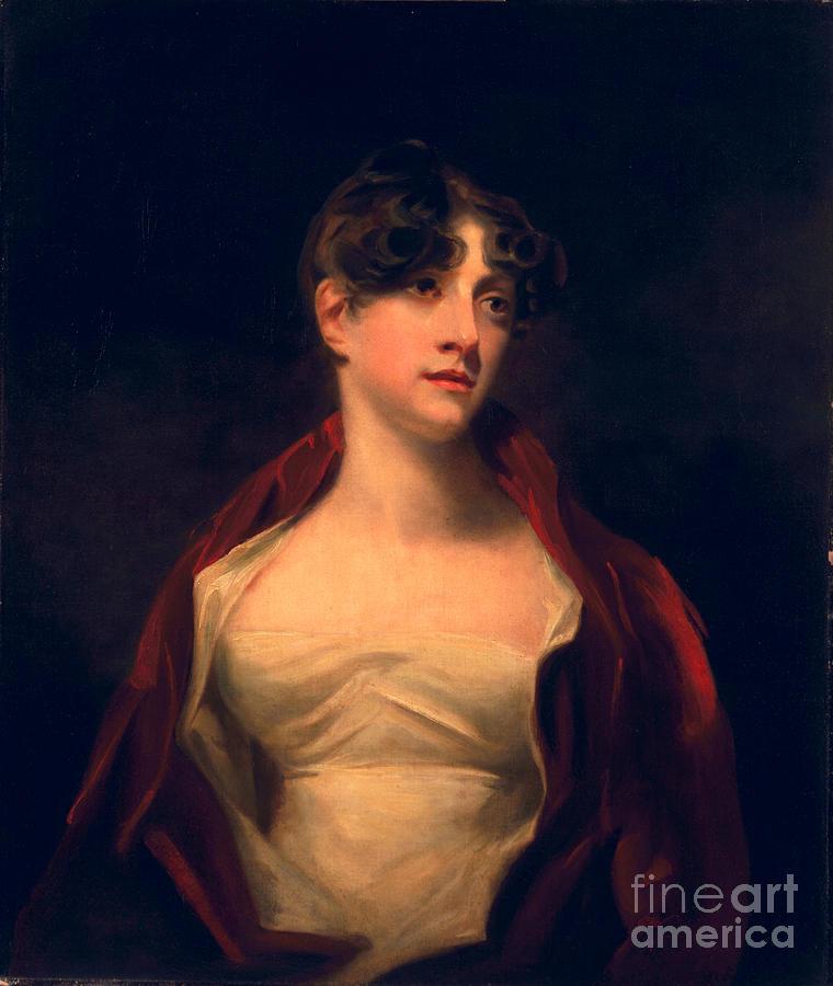 Female Painting - Margaret Moncrieff by Sir Henry Raeburn