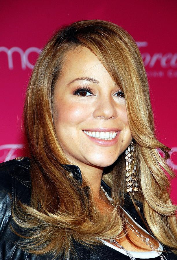 Mariah Carey Photograph - Mariah Carey In Attendance For Launch by Everett