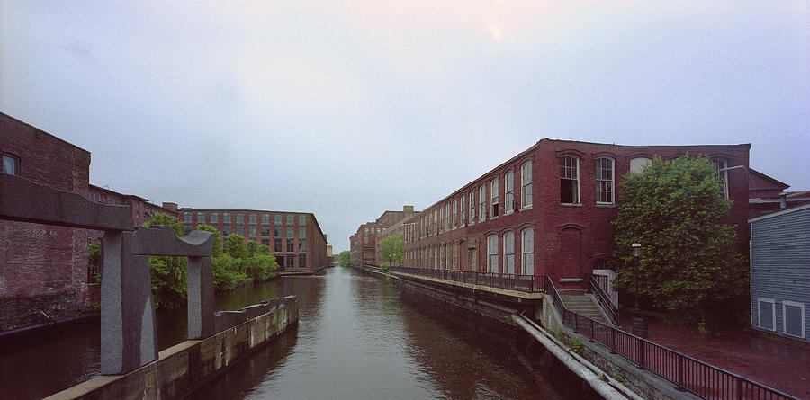 Merrimack River Photograph - Market Mills Lowell by Jan W Faul