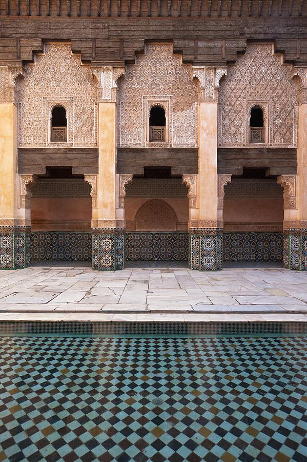 Arch Photograph - Marrakesh, Morocco by Axiom Photographic
