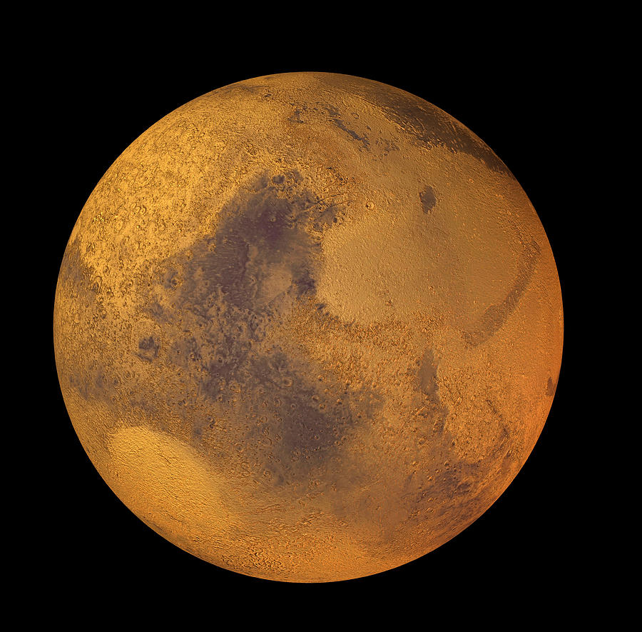 Mars Photograph - Mars by Friedrich Saurer