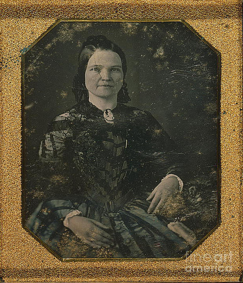 History Photograph - Mary Todd Lincoln, First Lady by Photo Researchers