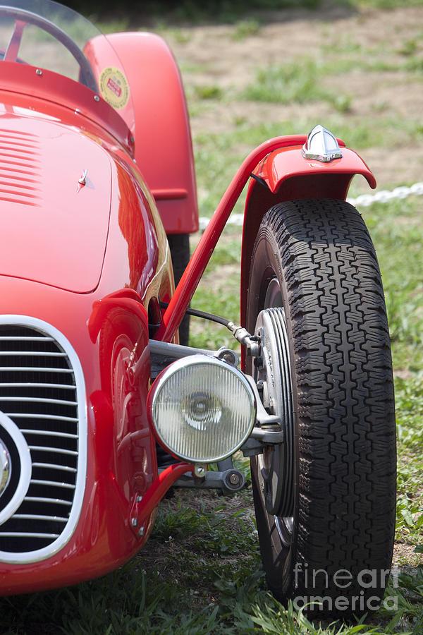 Old Car Photograph - Maserati 2 by Tad Kanazaki