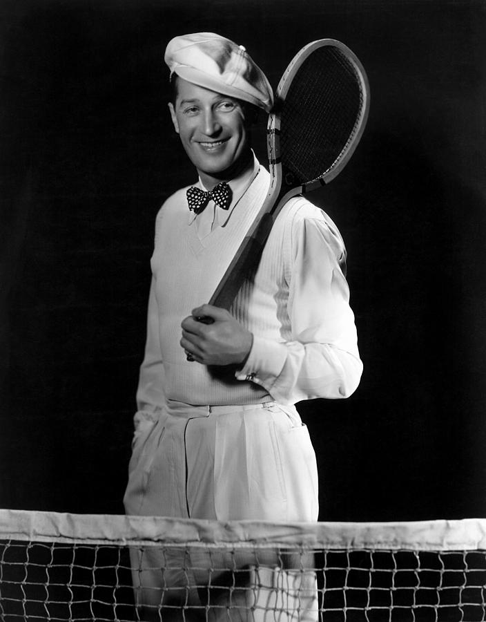 Bowtie Photograph - Maurice Chevalier, Ca. Early 1930s by Everett