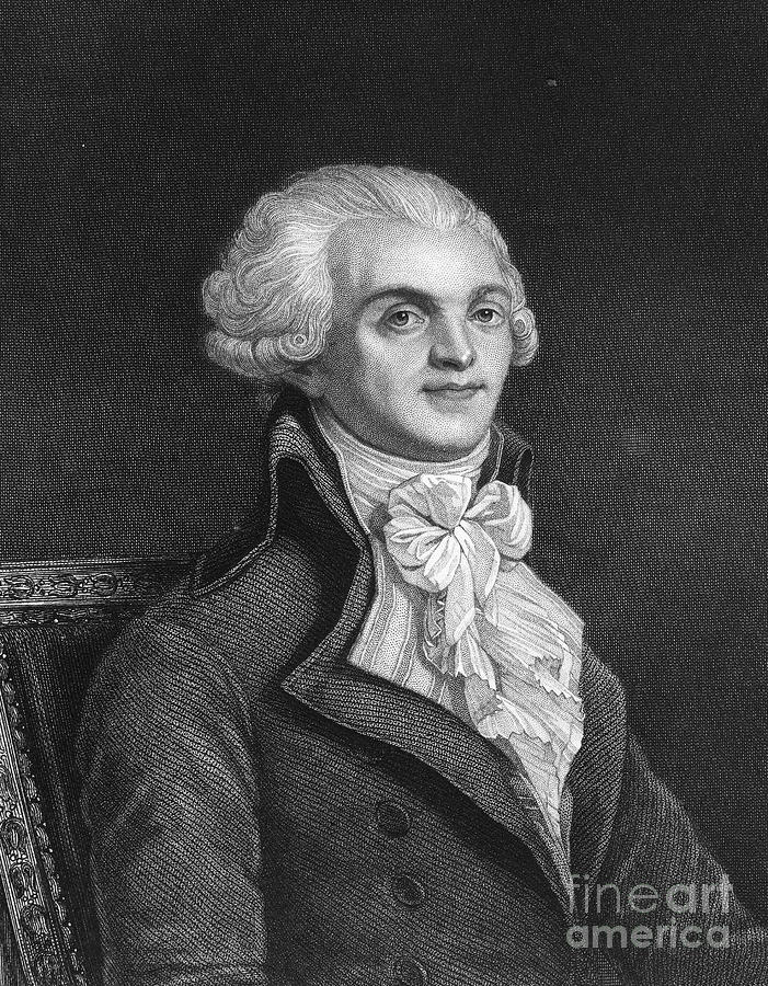 18th Century Photograph - Maximilien Robespierre by Granger