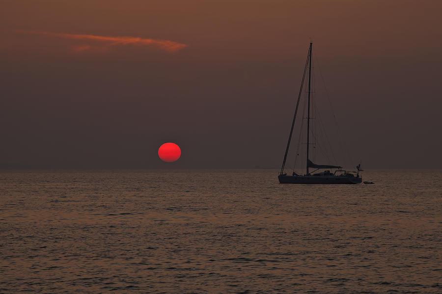Sun Photograph - Mediterranean by Joana Kruse