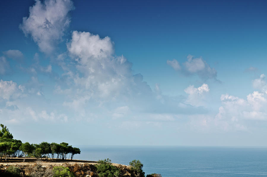 Clouds Photograph - Mediterranean landscape by Michael Goyberg