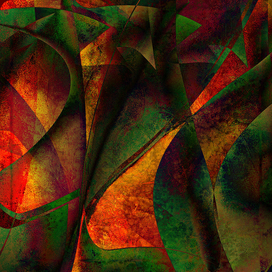 Digital Art Digital Art - Merging by Amanda Moore
