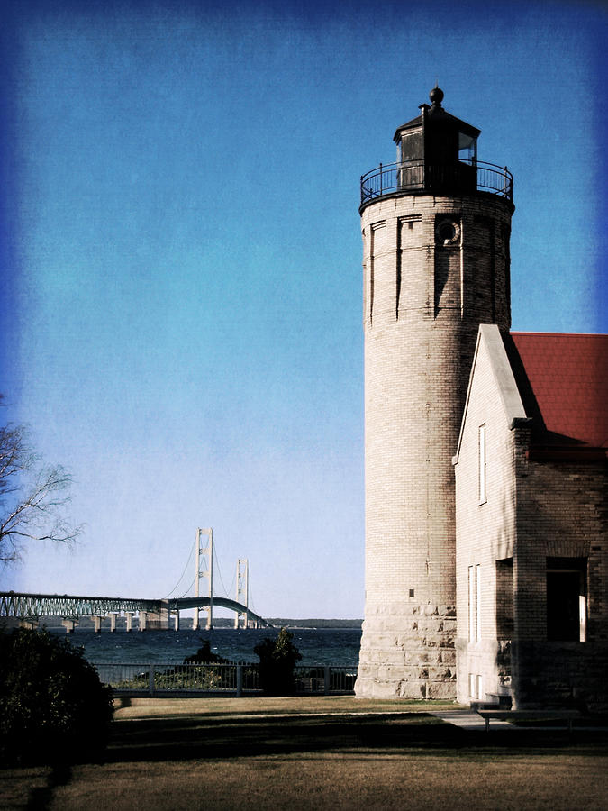 Lighthouse Photograph - Mi Mighty Mac by Christy Woods