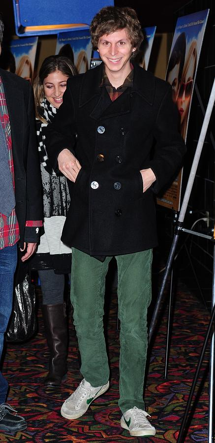 Michael Cera Photograph - Michael Cera At Arrivals For Youth In by Everett