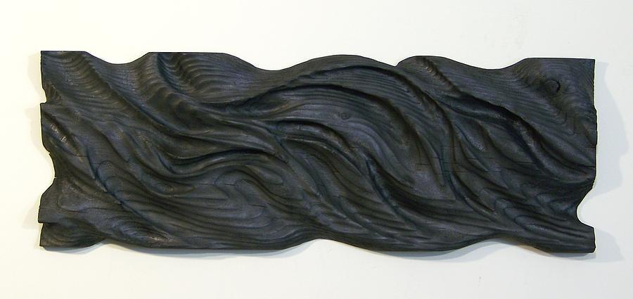 Wood Relief - Midnight by Evan Leutzinger