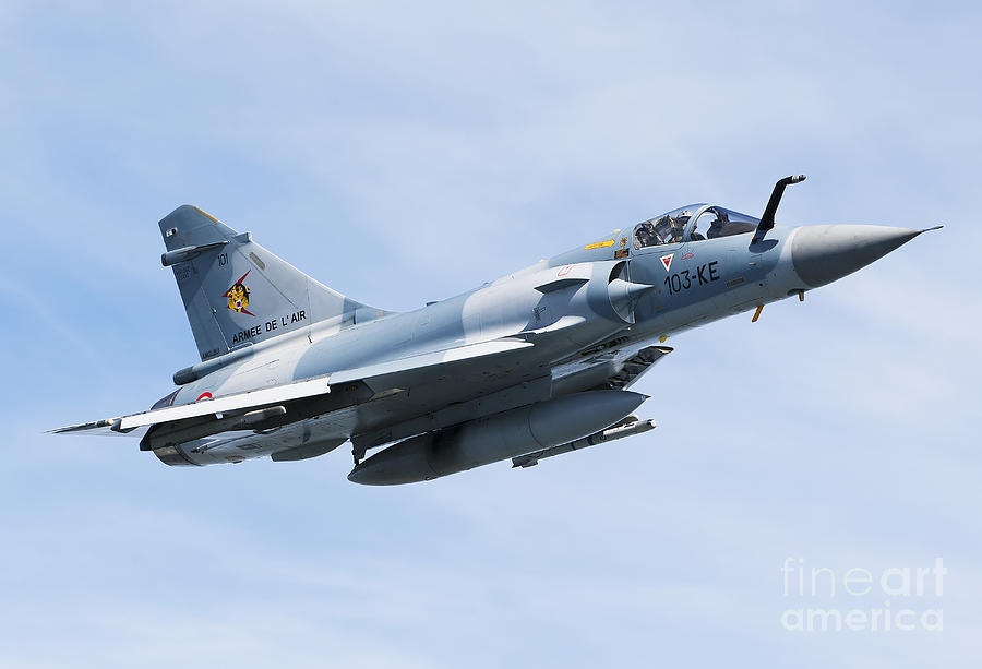 Transportation Photograph - Mirage 2000c Of The French Air Force by Gert Kromhout
