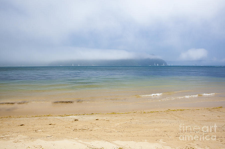 Mist Photograph - Mist Over Pittwater  by Sheila Smart Fine Art Photography