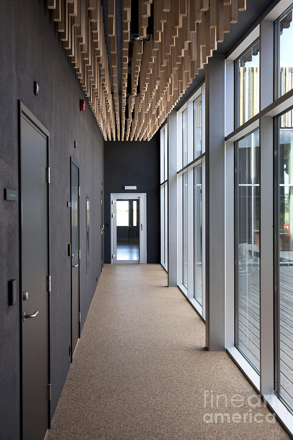 office hallway. Building Photograph - Modern Office Hallway By Jaak Nilson Office Hallway