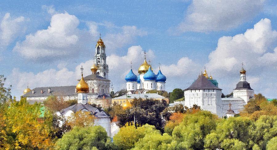 Church Photograph - Monastery Panorama  by Aleksandr Volkov