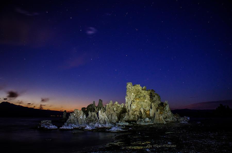 Mono Lake Photograph - Mono Lake Big Dipper Sky by La Rae  Roberts