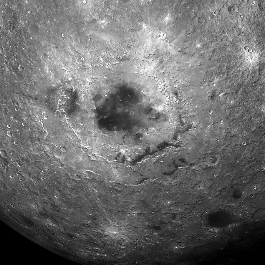 Moon Photograph - Moons Surface by Detlev Van Ravenswaay