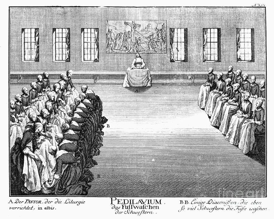 1757 Photograph - Moravians, 1757 by Granger