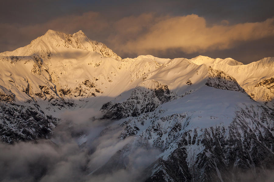 Canterbury Photograph - Mount Rolleston At Dawn Arthurs Pass Np by Colin Monteath