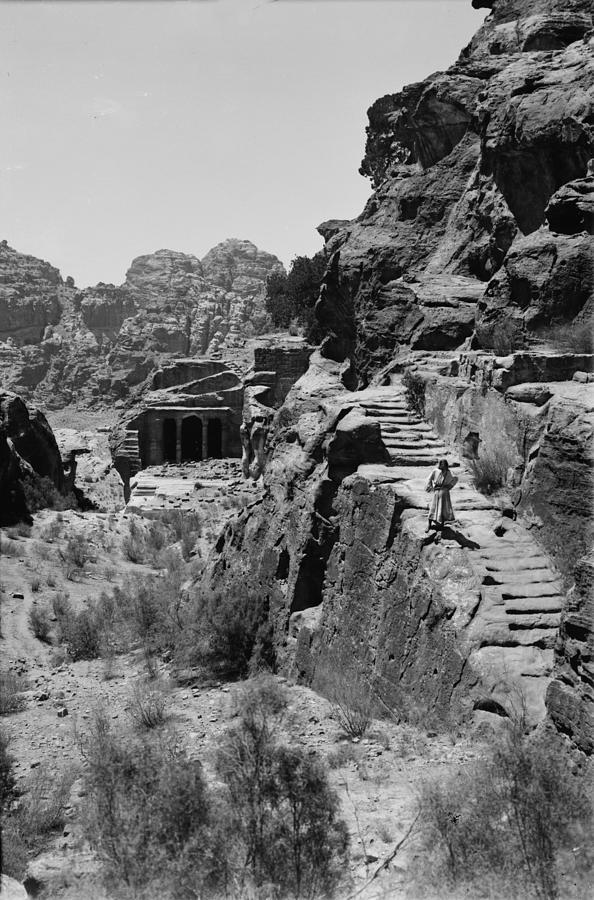 1890s Photograph - Mount Sinai, Trans-jordan. Petra by Everett