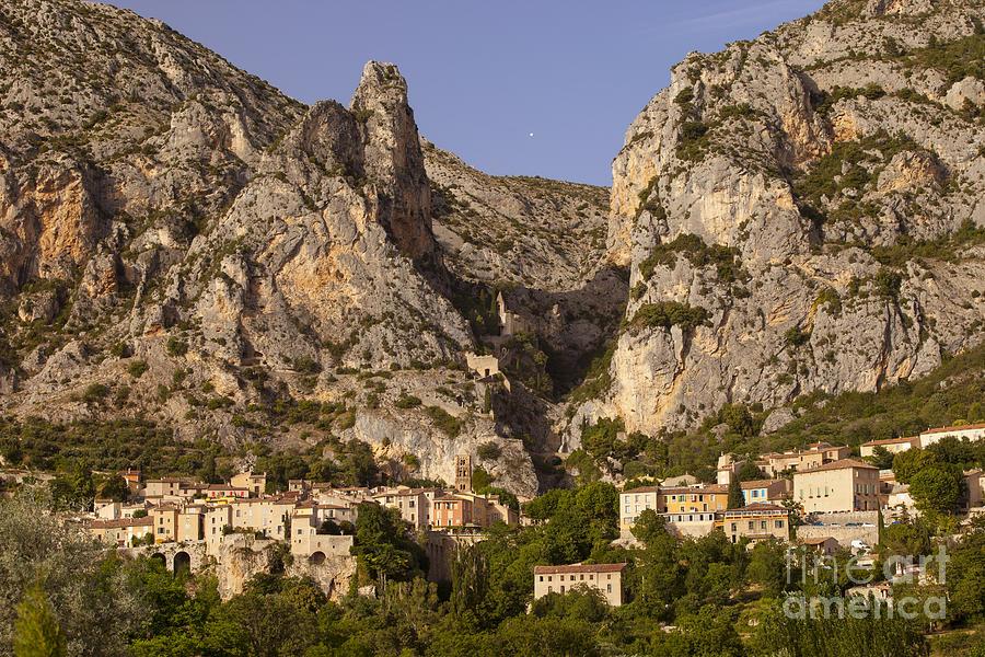 Alpes Photograph - Moustier-sainte-marie by Brian Jannsen