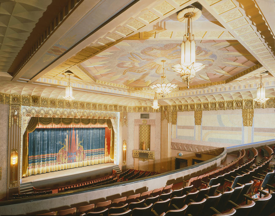 1990s Photograph - Movie Theaters, The Washoe Theater by Everett