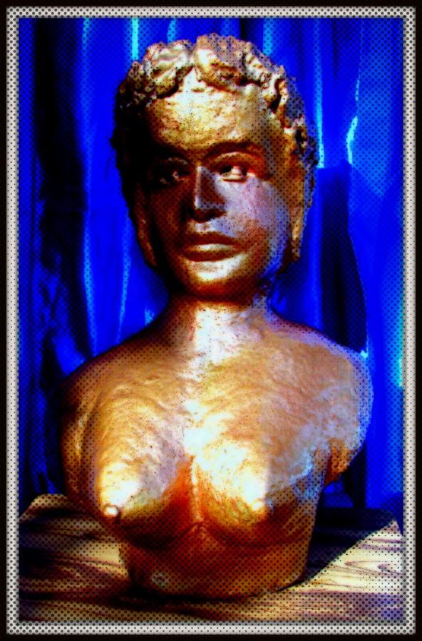 Sculptures Sculpture - My Model by Anand Swaroop Manchiraju